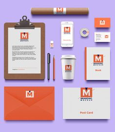 Today's special freebie is a beautiful brand identity mockup psd. Brand Identity Design, Branding Design, Mockups Gratis, Corporate Branding, Identity Branding, Mockup Templates, Templates Free, Photoshop Design, Grafik Design