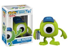 Cabezón Monstruos University. Mike Wazowski, Funko POP Disney, 9cm