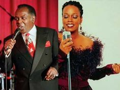 """Dianne Reeves & Lou Rawls - """"At Last"""" - two great voices!"""