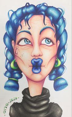 Un beso azul para ti! #myart #artsypictures #artstyle #ilustración Female, Art, Kisses, Blue Nails, Colors, Art Background, Kunst, Gcse Art, Art Education Resources