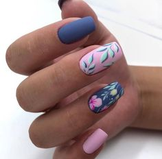 Manicure, Diy Nails, Stylish Nails, Trendy Nails, Best Acrylic Nails, Dream Nails, Fancy Nails, Blue Nails, Neon Nails