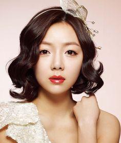 for short and mid length hair styling 3 / Korean Concept Wedding Photography - IDOWEDDING (www.ido-wedding.com)