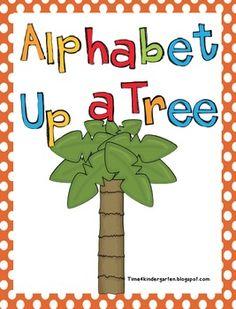 Alphabet up a Tree to go with Chicka Chicka  Boom Boom