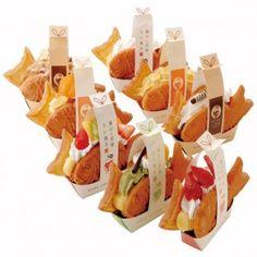 Taiyaki = Japanese Sea-bream-shape Waffles...here is Setouchi Hanayome Taiyaki , Setouchi area's bridal grilled sea-bream-shape Japanese waffles...ちどりグループ  瀬戸内花嫁たい焼き