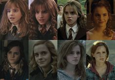 """Hermione Granger (Emma Watson)   Here's How The """"Harry Potter"""" Actors Looked Like In Each Film"""