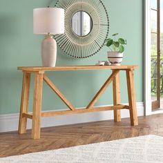 Kristin Reclaimed Wood Console Table | Joss & Main Sofa Tables, Console Table, Joss And Main, How To Distress Wood, Entryway Tables, Foyer, Decor Styles, Home Accessories, Solid Wood