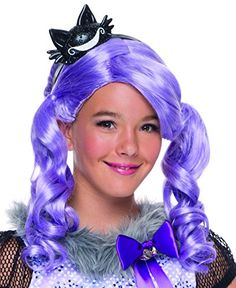 Rubie's Costume Ever After High Kitty Cheshire Child Wig ** Find out more about the great product at the image link.