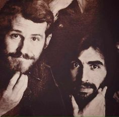 Levon and Richard Manuel of The Band. Soul Music, My Music, Garth Hudson, Rick Danko, Robbie Robertson, Soul Artists, Rock Of Ages, Band Photos, Number Two