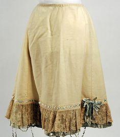 Petticoat 1900 cotton and silk