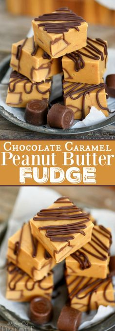 This delightfully easy Chocolate Caramel Peanut Butter Fudge comes together in just FIVE minutes - no candy thermometer needed! Perfect for peanut butter lovers! | eBay: