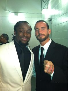 Suiting it up! (Kofi Kingston and Cm Punk)