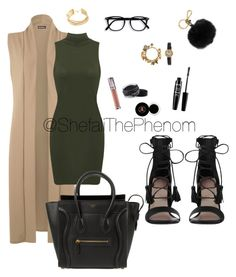 """Untitled #40"" by shefalithephenom on Polyvore featuring WearAll, CÉLINE, Zimmermann, MICHAEL Michael Kors, Urban Decay, Inglot, BCBGMAXAZRIA, Cartier, Anastasia Beverly Hills and NYX"