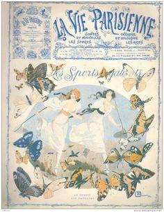 Georges Léonnec (1881 – 1940). La Vie Parisienne, 3 Mai 1913.  [Pinned 22-vii-2015]