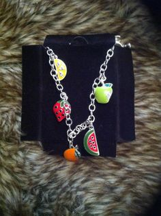 Just For Us Girls www.facebook.com/just4usgirls4 Fruit Bracelet  SB 4.00 BI .50 Shipping 2.50 (will combine) RTS/Paypal/US only