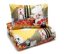 Moomin Duvet Cover Pillowcase Roses 120 x 160 cm Finlayson
