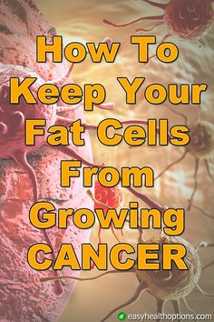 It turns out the relationship between fat and your hormones is what really makes all the difference in your breast cancer risk. Because fat cells actually release hormones that fuel the growth of breast cancer. Natural Cancer Cures, Natural Cures, Natural Health, Cancer Fighter, Beat Cancer, Cancer Fighting Foods, Cancer Facts, Cancer Treatment, Natural Medicine