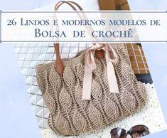 Cestos de fio de malha com tampa ⋆ De Frente Para O Mar Crochet Beach Bags, Skirts For Kids, Dolce E Gabbana, Crochet Handbags, Tassels, Crochet Hats, Knitting, Pattern, Crafts