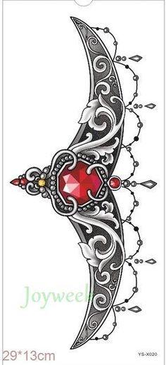 Waterproof Temporary Tattoo sticker body art henna waist breast chest mandala tatto stickers flash tatoo fake tattoos for women