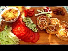 Tepertőkrém Magyaros töpörtyűkrém / Szoky konyhája / - YouTube Hamburger, Vegetables, Recipes, Food, Youtube, Food Food, Vegetable Recipes, Eten, Hamburgers