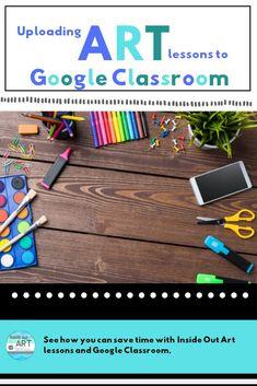 Art Classroom, Google Classroom, Classroom Ideas, Online Classroom, Classroom Resources, High School Art, Middle School Art, Art Room Posters, Art Worksheets