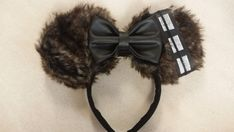 These Chewbacca inspired ears are perfect for the star wars fans. They will look perfect for your next Disney vacation.