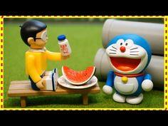 Đồ chơi trẻ em Doremon mini Nhật Bản  Nobita và Lọ Thuốc Thần Kỳ Hoạt hình Doraemon stop motion