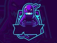 Team Logo Design, Logo Desing, Mascot Design, Cuadros Star Wars, Ninja Logo, Esports Logo, Font Art, Photography Logo Design, Gaming Wallpapers