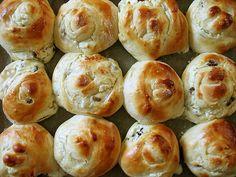 buleczki drozdzowe z serem