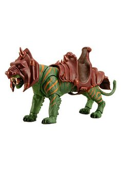 Battle Cat, Fighting Tiger of Eternia! From Masters of the Universe Classics at MattyCollector.com. #toys $33