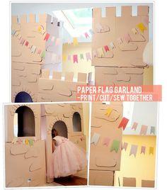 DIY Cardboard Castle Tutorial – Cost:$4   The Busy Budgeting Mama