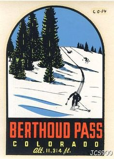 Berthoud Pass | We were always driving over the pass between Denver and Grand Lake, so I never had a chance to ski Berthod.  They had one of the longest seasons and would often stay open through May, sometimes later!