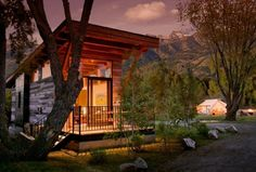 Tiny House Talk - Small Spaces More Freedom | The Wedge 400 Sq. Ft. Cabin by Wheelhaus | http://tinyhousetalk.com