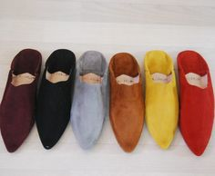 In love with Moroccan pointed toe slippers!