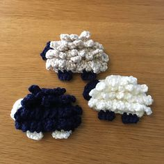 Amuse-Sheep - free crochet pattern by Kristi Peterson.