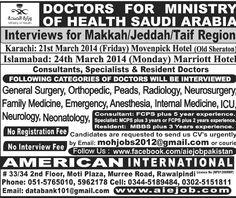Ministry Of Health Saudi Arabia Jobs
