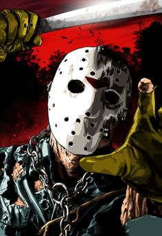 Jason Voorhees Art | Jason Voorhees from Friday the 13th, Part VII: The New Blood.