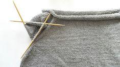 Elengiina: Ylhäältä alas neulottu paita + Helppo ohje Knitting, How To Make, Handmade, Fashion, Wings, Breien, Moda, Hand Made, Tricot