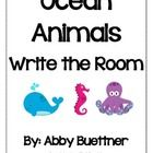 This is a great addition to your Ocean unit.  Hide the ocean animal words around the room.  Have your students go around the room with the recordin...