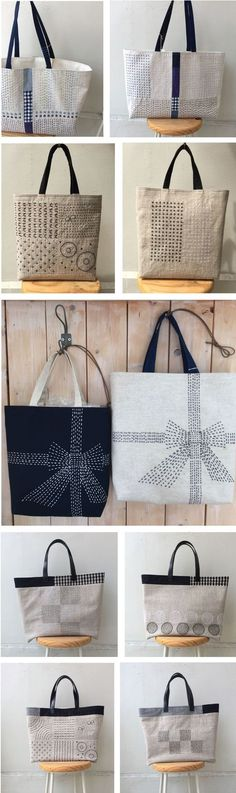 Shukugawa Sakura Sagyosyo | Cari Mateo #handmadebag