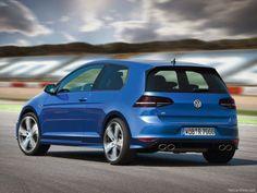 Volkswagen VW Golf R -2014 foto trasera