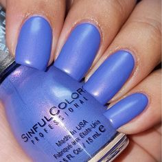 This is Sinful Colors Kylie Matte Collection (Purple Kraze). #nailsofig #nailpolish #instanails ...