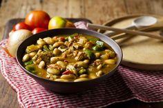CHICKEN AND BUTTER BEAN SISHEBO Pumpkin Stew, Butter Beans, Bean Stew, South African Recipes, Vegetarian Meals, Soup, Chicken, Dinner, Vegetables