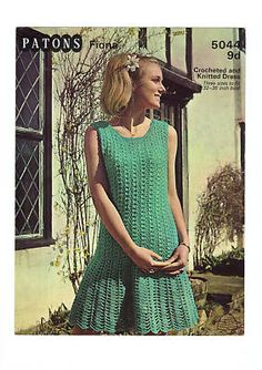 mix knitting and crochet to create this summer stunner