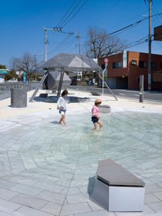 Kiriake: pequeño parque en Kumamoto. Takao shiotsuka atelier - Noticias de Arquitectura - Buscador de Arquitectura