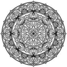 Krita Circles Mandala 10 by WelshPixie (print image)