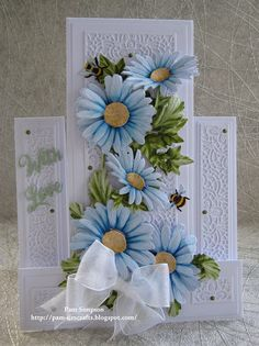 """Hello Everyone, Sharing my DT samples for Tattered Lace """"Petals Of Lace Collection"""" Launching on Create and Craft TV Thursda. Happy Birthday Cards Handmade, Cute Birthday Cards, Greeting Cards Handmade, Birthday Images, Birthday Quotes, Birthday Greetings, Birthday Wishes, Fancy Fold Cards, Folded Cards"""