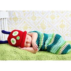 Less than $7 with promo code fmyG16 and free shipping!! Rainbow Caterpillar Crochet Outfit (2pc-set), 50.5% discount @ PatPat Mom Baby Shopping App.   Use promo code  fmyG16 for $5 off!  If link doesn't work, download the PatPat app or visit PatPat.com.