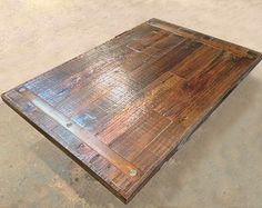Wood Table Tops Made to Order: sweet reclaimed wood table