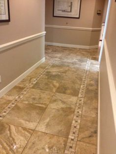 Hallway floor ideas on pinterest hallway flooring for Foyer flooring ideas