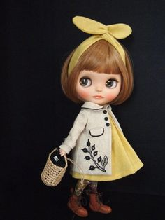 ◆tomorrow◆Blythe outfit ブライス 刺繍コート9... - ヤフオク!
